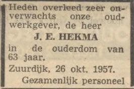 1957 10 26 jan enne hekma adv 3 v