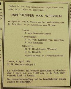 b110 111 112 J.S. van Weerden adv