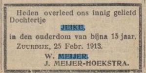 c079 1913 meijer jeike
