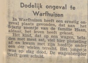 f032 haan hilbrand ongeluk 1951