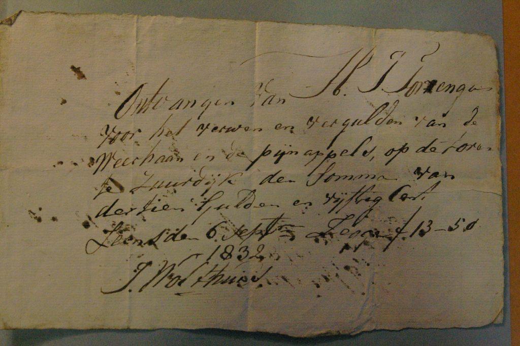 toren 1832 nota verven windvaan kopie