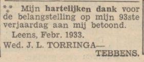 B001 B002 Jannes Luitje Torringa x Trientje Tebbens – ZUURDIEK